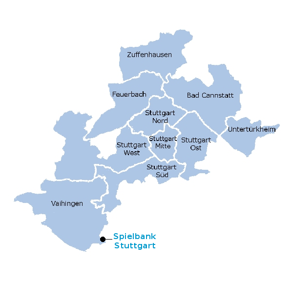 Stuttgart Map